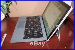 Microsoft Surface Pro 3 Pro 3 256GB, Wi-Fi, 12in Silver WITH KEYBOARD & STYLUS