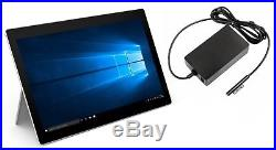 Microsoft Surface Pro 3 Tablet Core i5 256GB SSD 8GB Windows 10 with AC Adapter