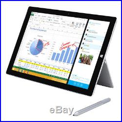 Microsoft Surface Pro 3 Tablet + Stylus Pen & AC Adapter Factory Boxed MQ2-00001