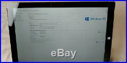 Microsoft Surface Pro 3 WIFI 512GB SSD 8GB 12 Intel Core i7 Keyboard Mouse Pen