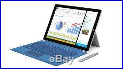 Microsoft Surface Pro 3 i5 4GB 128GB Tablet 12in + Keyboard Win 10 Pro
