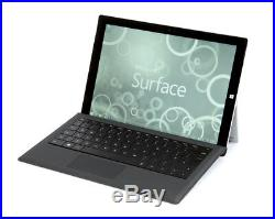 Microsoft Surface Pro 3 i5 8GB 256GB Tablet 12in + Keyboard Cover Win 10 Pro
