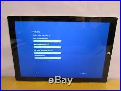 Microsoft Surface Pro 3 i7-4650U 1.7GHz 8GB RAM 256GB SSD Windows 8.1 Pro