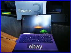 Microsoft Surface Pro 3, i7/512GB/8GBRAM, with keyboard cover, mouse and dock