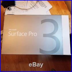 Microsoft Surface Pro 3 i7 8 gb ram 512 ssd with Keyboard updated window 10