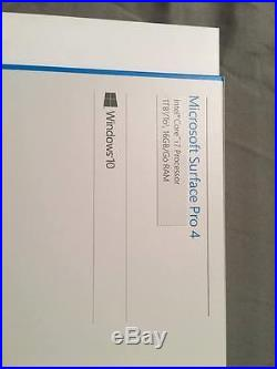 Microsoft Surface Pro 4 12.3 Intel Core i7, Processor 1Tb SSD, 16Gb, Win10