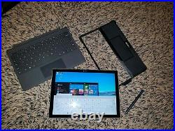 Microsoft Surface Pro 4 12.3 i5-6300U 16GB 256GB SSD BUNDLE WITH DOCK and cover
