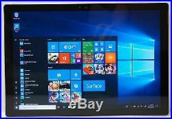 Microsoft Surface Pro 4 12.3 i5-6300U 256GB 8GB RAM Windows 10 Pro Tablet#3M23