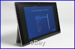 Microsoft Surface Pro 4 12.3 i5-6300U 256GB 8GB RAM Windows 10 Pro Tablet#3M91