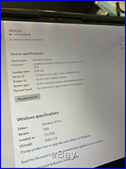 Microsoft Surface Pro 4 12 Intel i5 128GB 4GB RAM WIFI (No Touchscreen)