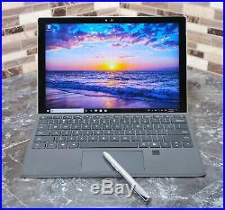Microsoft Surface Pro 4 1724 12.3 i7-6650U16GB256GB SSD +FPrint Keyboard +Pen