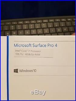 Microsoft Surface Pro 4 1TB, Wi-Fi, 12.3in Silver Intel Core i7 16 GB