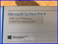 Microsoft Surface Pro 4 (256 GB, 16 GB RAM, Intel Core i7-6650U 2.2GHz) with Dock