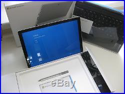 Microsoft Surface Pro 4 256GB 16GB 12.3 i7 6650U withKeyboard +stylus+Warranty