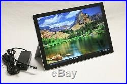 Microsoft Surface Pro 4 256GB SSD 12.3 Intel i5-6300U 8GB RAM Win 10 Tablet