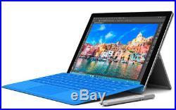 Microsoft Surface Pro 4, 6th Gen Core i7-6650U, 2.20GHz 16 GB 256 GB Refurbished