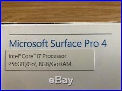 Microsoft Surface Pro 4 8GB RAM 256GB SSD, Core i7-6600U Silver