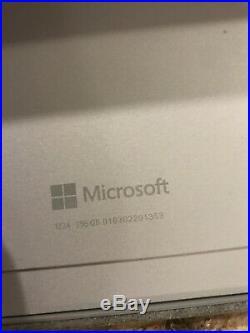 Microsoft Surface Pro 4 Core i5-6300U 2.4GHz 8GB 256GB 12 keyboard Win 10 pro
