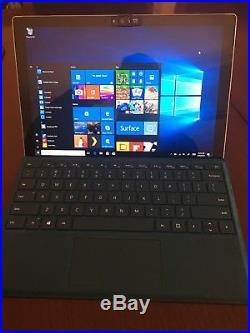Microsoft Surface Pro 4 Core i7 16 GB RAM 256 GB SDD, Type Cover, NEW Pen BUNDLE