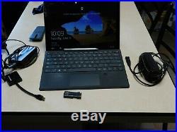 Microsoft Surface Pro 4 Core i7 6650U, 8GB RAM, 256GB SSD Windows 10 With Extras