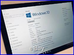 Microsoft Surface Pro 4 Intel Core i5 4GB RAM 128GB SSD Windows 10 (Please read)