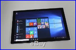 Microsoft Surface Pro 4 Pro 4 256GB, Wi-Fi, 12.3in. I7, 8GB Ram, Works Great
