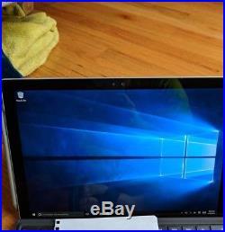 Microsoft Surface Pro 4 Pro 4 256GB, Wi-Fi, 12.3in Silver Core i7 16gb ram