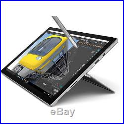 Microsoft Surface Pro 4 Tablet, 12.3, 8GB RAM, 256GB, Intel i5 + Pen Silver