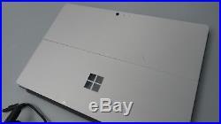 Microsoft Surface Pro 4 Tablet 12.3 i5-6300U 2.4GHz 4GB 128GB SSD Win 10 1724