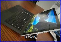 Microsoft Surface Pro 4 bundle 256GB, 12.3in, Core i7 8gb RAM, keyboard