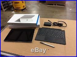 Microsoft Surface Pro 4 i5-6300U 2.4GHz 8GB 256GB SSD Original Box+ More READ