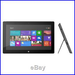 Microsoft Surface Pro 4GB, 128GB, Wi-Fi, 10.6 inch Black Very Good Condition