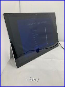 Microsoft Surface Pro 5 128GB, Wi-Fi, 12.3 inch Silver Read Description