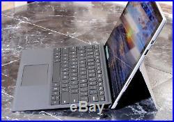 Microsoft Surface Pro 5 1796 2017 i5-7300U8GB256GB SSD +Keyboard +Pen WARRANTY