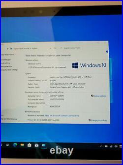Microsoft Surface Pro 5 1796 i5 7th Gen Keyboard & Pen