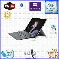Microsoft Surface Pro 5 TOUCH 1796 12.3 Core i5 256GB Win10 8GB Office2019