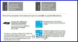 Microsoft Surface Pro 5th Gen 128GB, Wi-Fi Silver Ex condition