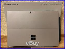Microsoft Surface Pro 5th Gen 256GB 8GB RAM i5-7300U INCLUDES Type Cover & Pen