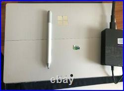Microsoft Surface Pro 6 12.3, 128GB SSD, 8GB RAM Type Cover Keyboard Pen Bundle