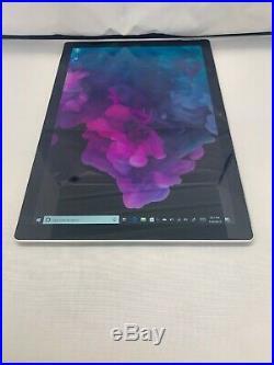 Microsoft Surface Pro 6 12.3, 128GB SSD, 8GB Ram Tablet Platinum
