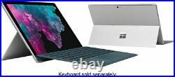 Microsoft Surface Pro 6 12.3 Intel Core i5-8250U 8GB RAM 256GB SSD NO KEYBOARD