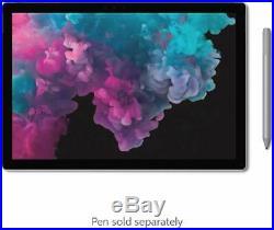 Microsoft Surface Pro 6 12.3 Intel Core i5 8GB RAM 256GB SSD Model LJM-00028