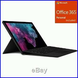 Microsoft Surface Pro 6 12.3 Intel Core i5 8GB RAM 256GB SSD + Office 365 Bundle