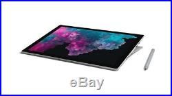 Microsoft Surface Pro 6 12.3 Intel Core i7 8GB RAM 256GB SSD Black