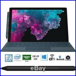 Microsoft Surface Pro 6 12.3 Intel i5-8250U 8GB/128GB Laptop with Surface Pen