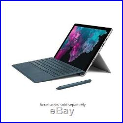 Microsoft Surface Pro 6 12.3 Tablet, i5, 8GB RAM, 256GB SSD, W10H, Platinum