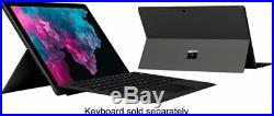 Microsoft Surface Pro 6 256GB SSD interl i5 12.3 8GB RAM Black KJT-00016 Sealed