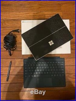 Microsoft Surface Pro 6, Intel Core I7, 16GB RAM, 1TB SSD withkeyboard + pen