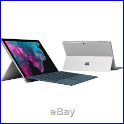 Microsoft Surface Pro 6 KJT-00001 12.3 i5 256GB SSD Convertible Laptop Bundle