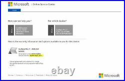 Microsoft Surface Pro 7 12.3 (128GB, Intel Core i5, 8GB) Platinum (Latest)